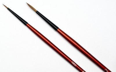 Top 5 of the best brushes for miniature painting