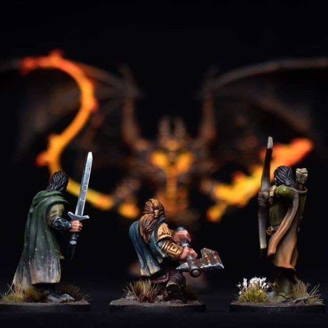 lord of the rings miniature painting