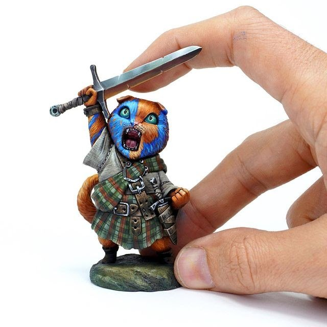 angel giraldez professional miniature painter